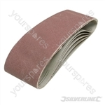 Sanding Belts 75 x 533mm 5pk - 40 Grit