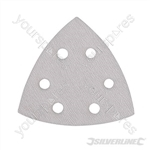 Hook & Loop Stearated Triangle Sheets 90mm 10pk - 400 Grit