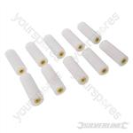 100mm Mini Roller Sleeves 10pk - Gloss