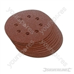 Hook & Loop Discs Punched 115mm 10pk - 60 Grit