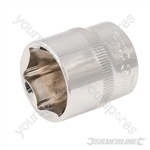 "Socket 3/8"" Drive 6pt Metric - 21mm"