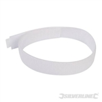 Hook & Loop Cable Ties 10pk - 450mm White