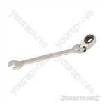 Flexible Head Ratchet Spanner - 9mm