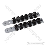Socket Storage Rail Set 2pce - 1/2""