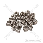 Helicoil Type Thread Inserts - M6 x 1.0mm 25pk