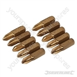 Phillips Gold Screwdriver Bits 10pk - PH2