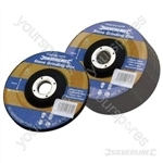Stone Grinding Discs Depressed Centre 10pk - 100 x 6 x 16mm