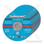 Metal Cutting Discs Flat 10pk - 115 x 3 x 22.23mm