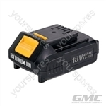 18V Li-Ion Batteries - GMC18V15 1.5Ah