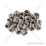 Helicoil Type Thread Inserts - M10 x 1.5mm 25pk