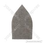 Hook & Loop Mesh Triangle Sheets 175 x 105mm 10pk - 180 Grit