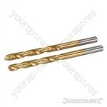 HSS Titanium-Coated Drill Bits 2pk - 6.0mm