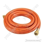 Gas Hose with Connectors - 5m
