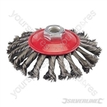 Steel Twist-Knot Brush - 115mm