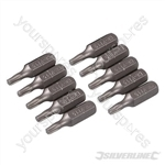 T15 Cr-V Screwdriver Bits 10pk - T15
