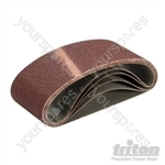 Sanding Belt 64 x 406mm 5pk - 60 Grit