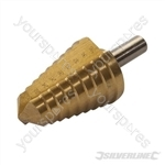 Titanium-Plated HSS Step Drill - 20 - 36mm