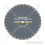 Laser-Welded Concrete & Stone Cutting Diamond Blade - 450 x 25.4mm Segmented Rim