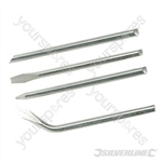 Soldering Iron Tips Set 4pce - 100W