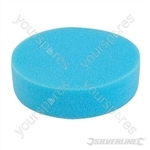 Hook & Loop Foam Polishing Head - 150mm Medium Blue