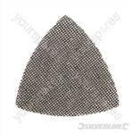 Hook & Loop Mesh Triangle Sheets 95mm 10pk - 80 Grit