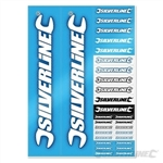 Silverline A4 Sticker Sheet - A4
