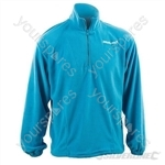 "Silverline Fleece Top - Zipped Neck - Large (112cm / 44"")"
