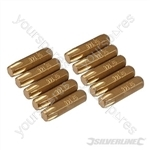 Torx Gold Screwdriver Bits 10pk - T40