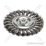 Steel Twist-Knot Wheel - 150mm
