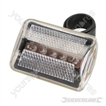 5 LED Bike Lamp - Clear