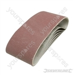 Sanding Belts 100 x 610mm 5pk - 40 Grit