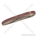 Sanding Belts 13 x 457mm 5pk - 80 Grit