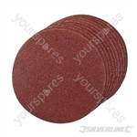 Hook & Loop Discs 125mm 10pk - 125mm 60 Grit