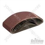 Sanding Belt 75 x 533mm 5pk - 80 Grit