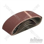 Sanding Belt 64 x 406mm 5pk - 100 Grit