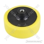 M14 Foam Polishing Head - 150mm Coarse Yellow