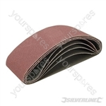 Sanding Belts 65 x 410mm 5pk - 40, 60, 120 & 2 x 80G