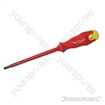 Insulated Soft-Grip Screwdriver Slotted - 5 x 125mm