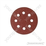 Hook & Loop Discs Punched 150mm 10pk - 240 Grit