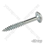 "Zinc Pocket-Hole Screws Washer Head Fine - No.7 x 1-1/4"" 1200pk"