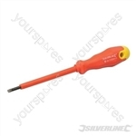 Insulated Soft-Grip Screwdriver Slotted - 3 x 100mm