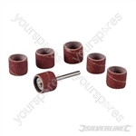 "Rotary Tool Drum Sanding Set 7pce - 12.70mm (1/2"")"
