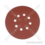 Hook & Loop Discs Punched 150mm 10pk - 80 Grit