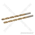 HSS Titanium-Coated Drill Bits 2pk - 3.5mm