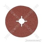 Fibre Discs 125 x 22.23mm 10pk - 36 Grit
