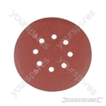Hook & Loop Discs Punched 150mm 10pk - 180 Grit