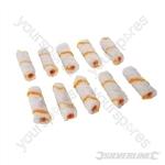 100mm Mini Roller Sleeves 10pk - Emulsion