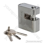 Close Armoured Shutter Lock Padlock - 60mm