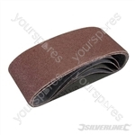 Sanding Belts 65 x 410mm 5pk - 60 Grit