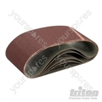 Sanding Belt 100 x 560mm 5pk - 100 Grit